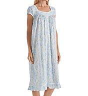 Eileen West Seaglass Modal Jersey Short Sleeve Waltz Nightgown 5016128
